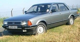 Ford Granada (Europe) - Ford Granada Ghia (Mk II)