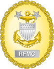 Badge d'identification de l'ancien chef de l'USCG Rating Force.png