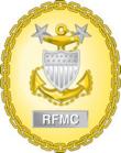 Ex insignia de identificación de jefe maestro de la fuerza de calificación de la USCG.png