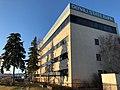 Former location of St. Joseph's Hospital, now Denali State Bank. (46806436065).jpg