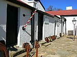 The historic Officers' Mess dates from about 1830 and is one of the oldest existing buildings in Fort Beaufort. It is closely linked with the history of the town as well as with the military history of the Eastern Cape. Type of site: Officers' Mess Current use: Museum.
