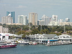 Downtown Fort Lauderdale in February 2005