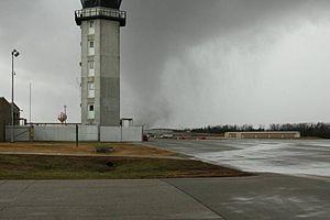 2010 New Year's Eve tornado outbreak - The EF3 tornado near Fort Leonard Wood on December 31