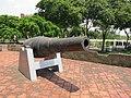 Fort of San Antonio Abad - southeastern cannon 1.JPG