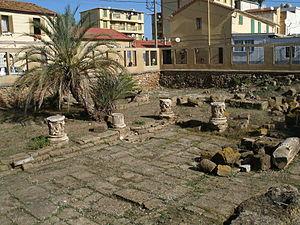 Caesarea, Numidia - Remains of the Forum of Caesarea Mauretaniae
