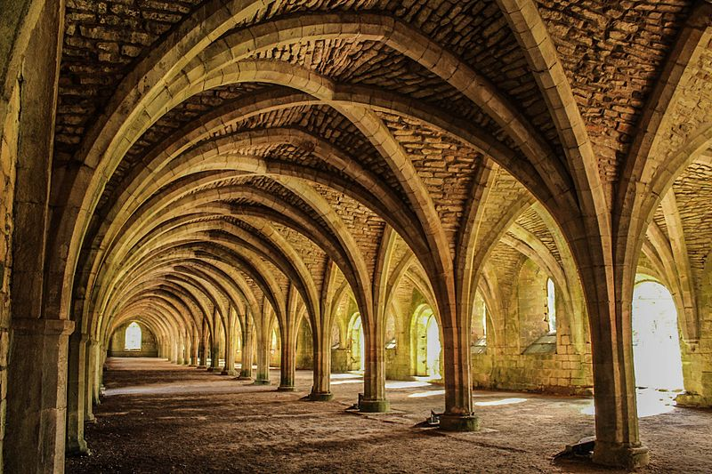 File:Fountains Abbey, UK, Ripon.jpg