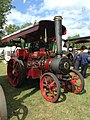 Fowler traction engine 'King of the Road' (16782780599).jpg