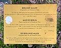 Fragment du mur de Berlin au Parc Leopold, Bruxelles (septembre 2019) - plaque.jpg