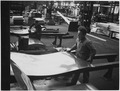 France. Lamination of the hot aluminum and light alloy into sheets 90 centimeters wide - NARA - 541679.tif