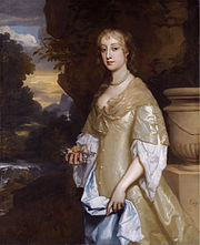Frances Bard (c 1646-1708) by Peter Lely
