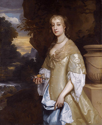 Prince Rupert of the Rhine - Frances Bard, Rupert's mistress, by Peter Lely.