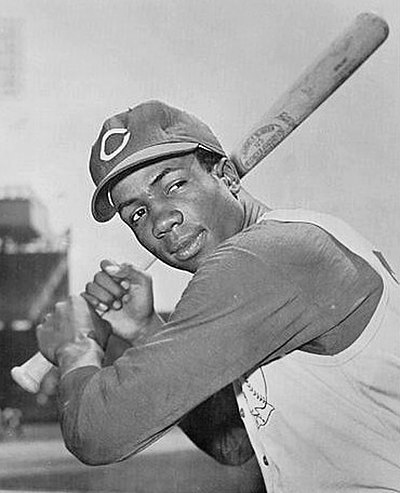 Frank Robinson, American professional baseball player, outfielder, manager