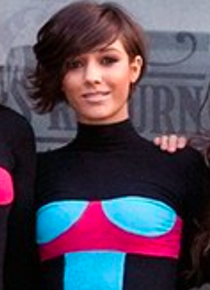 Frankie Bridge - Bridge at the Real Radio launch.