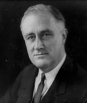 Franksgiving - Franklin Delano Roosevelt in 1933