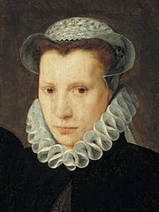 Portait of a young woman