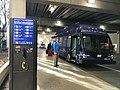 Free shuttle bus to car rental center Dallas Fort Worth International Airport DFW.jpg