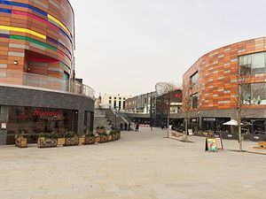 Newport city centre - Friars Walk, Newport