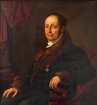 Von der Leyen (family from Krefeld) - Friedrich Heinrich, Baron von der Leyen (1769–1825)