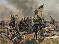 Friedrich II in der Schlacht bei Zorndorf Copy after Carl Röchling.jpg
