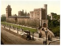 From the southeast, Cardiff Castle, Wales-LCCN2001703450.tif