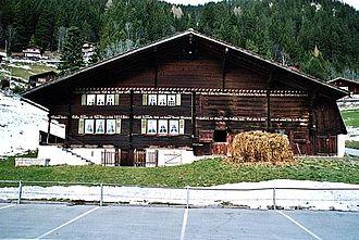 Frutigen - A traditional Adelboden valley farm house in Frutigen