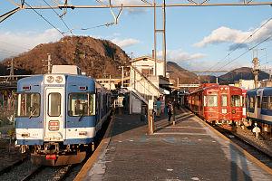 Ōtsuki Station - Image: Fuji Kyuko Otsuki Station 01