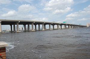 Fuller Warren Bridge - Image: Fuller Warren Bridge