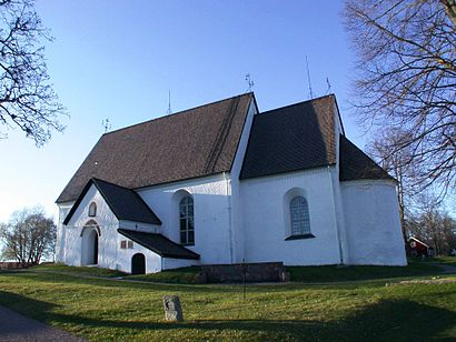How to get to Funbo Kyrka with public transit - About the place