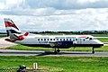 G-LGNB 2 Saab SF.340B Loganair-BA MAN 16SEP05 (6923686091).jpg