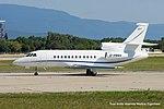 G-RMMA Dassault Falcon 900EX F900 - LCY (20517900513).jpg