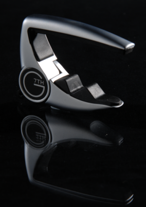 "G7th Capo Company - The G7th ""Performance"" capo which uses a wrap spring clutch"