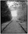 GENERAL VIEW SHOWING TOBOGGAN RUN - Kendall Lake Shelter, Truxell Road, Peninsula, Summit County, OH HABS OHIO,77-PEN.V,1-10.tif