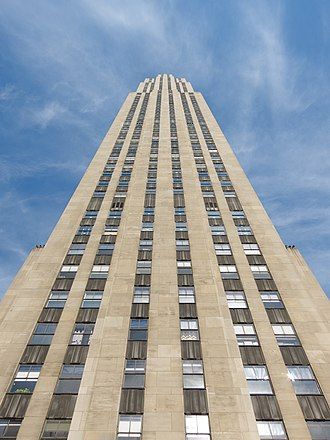 30 Rockefeller Plaza - Image: GE Building New York August 2012 001