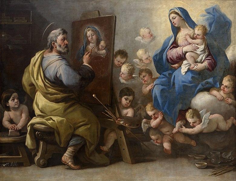 File:GIORDANO Luca 1692-95 Saint Luc peignant la Vierge.jpg