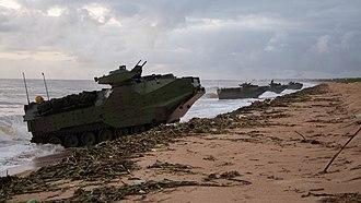 Brazilian Marine Corps - Amphibian operations with CLAnfs.