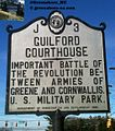 GUILFORD COURTHOUSE - INPORTANT BATTLE OF THE REVOLUTION BE-TWEEN ARMIES OF GREENE AND CORNWALLIS . U. S. MILITARY PARK. - panoramio.jpg