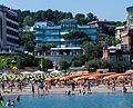 Gabicce Mare. Spiaggia sotto i Giardini Unità d'italia.jpg