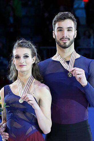 Guillaume Cizeron - Papadakis and Cizeron at the 2016 European Championships