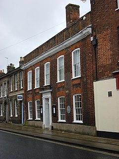 birthplace of the leading English painter Thomas Gainsborough