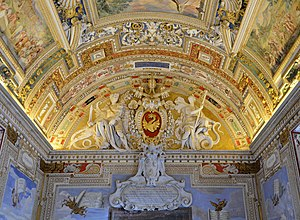 The Gallery of Maps - Image: Galleria delle carte geografiche (Vatican Museums) September 2015 1a