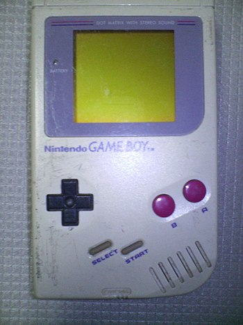 First model of Game Boy