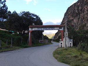 Gámeza - Town entrance