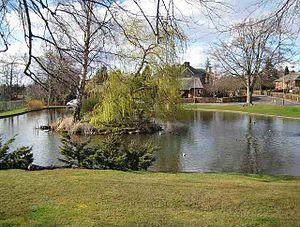 Kinnoull - Image: Gannochy duck pond