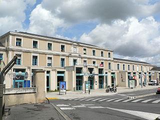 Gare dAngoulême railway station in Angoulême, France