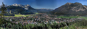 Werdenfelser Land - Image: Garmisch Partenkirchen high resolution