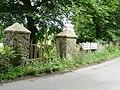 Gate Pillars on the Cloghoge Road - geograph.org.uk - 1391309.jpg
