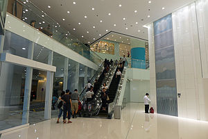 The Gateway, Hong Kong - Entrance Atrium after renovation in 2012