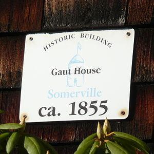 Samuel Gaut House - Image: Gaut House Sign