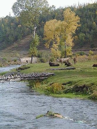 Getik River - Getik river in Gherakunik, Armenia