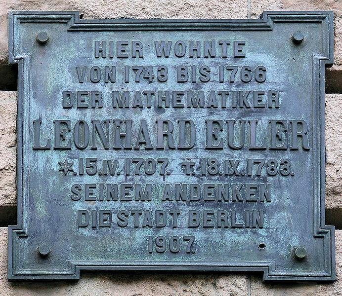File:Gedenktafel Behrenstr 21-22 Leonhard Euler.JPG